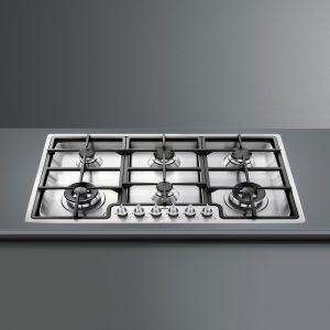 Gas on Stainless Steel Hobs